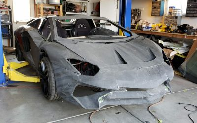 22. The Ultimate DIY: 3D Printed Lambo